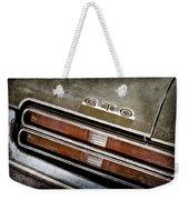 1969 Pontiac Gto Taillight Emblem -0475a Weekender Tote Bag