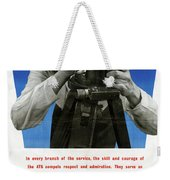 Poster Women Workers Weekender Tote Bag