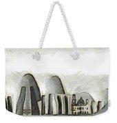 Rio De Janeiro Skyline Weekender Tote Bag