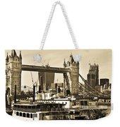 River Thames View Weekender Tote Bag