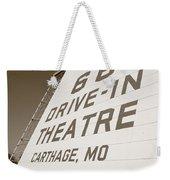 Route 66 Drive-in Theatre Weekender Tote Bag