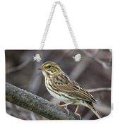 Savannah Sparrow Weekender Tote Bag