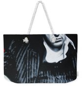 Scarface Weekender Tote Bag by Luis Ludzska