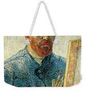 Self Portrait Weekender Tote Bag by Vincent van Gogh