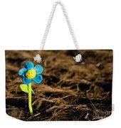 Smile Flower Weekender Tote Bag