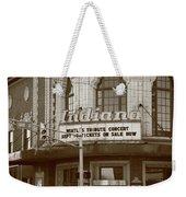 Terre Haute - Indiana Theater Weekender Tote Bag