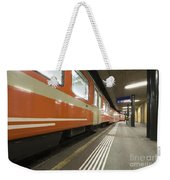 Train Station Weekender Tote Bag