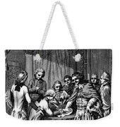 Treaty Of Paris, 1783 Weekender Tote Bag