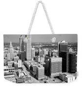 Tulsa Oklahoma Skyline Weekender Tote Bag