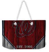 Washington Nationals Weekender Tote Bag
