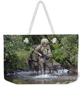 Welsh Guards Training Weekender Tote Bag