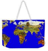 Modern World Map  Weekender Tote Bag
