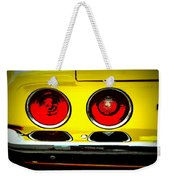 71 Camaro Tail Lights Weekender Tote Bag