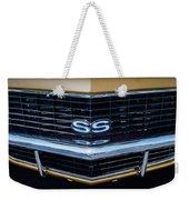 71 Camero Grille Weekender Tote Bag