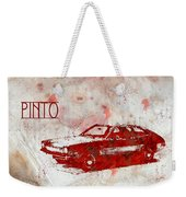 71 Pinto Weekender Tote Bag