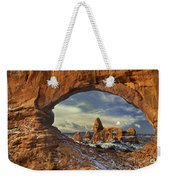 714000087 Turret Arch Arches National Park Weekender Tote Bag