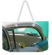 #766 D86 Mini Holiday Oldsmobile Antique Cars  Weekender Tote Bag