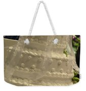 #775 D138 Cake All White  Weekender Tote Bag