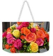 #790 D300 Roses Super Bright Weekender Tote Bag