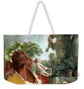 Irish Setter Art Canvas Print Weekender Tote Bag