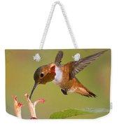 Allens Hummingbird Weekender Tote Bag