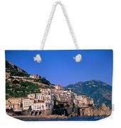 Amalfi Town In Italy Weekender Tote Bag by George Atsametakis
