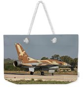 An F-16a Netz Of The Israeli Air Force Weekender Tote Bag