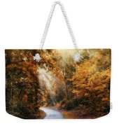 Late Autumn Trail Weekender Tote Bag