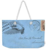 Civil War Letter, C1863 Weekender Tote Bag