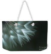 Dandelion Close-up View Backlit Weekender Tote Bag
