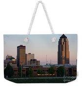 Des Moines Iowa Weekender Tote Bag