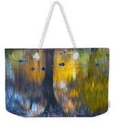 8 Ducks On Pond Weekender Tote Bag