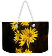 Bees And Flowers Weekender Tote Bag