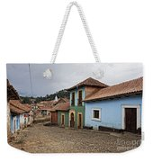 forgotten village Totora Weekender Tote Bag