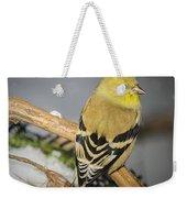 Golden Finch Weekender Tote Bag
