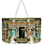 Hindu Temple With Indian Gods Kuala Lumpur Malaysia Weekender Tote Bag