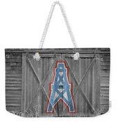 Houston Oilers Weekender Tote Bag by Joe Hamilton