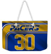 Indiana Pacers Uniform Weekender Tote Bag