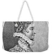Lady Jane Grey (1537-1554) Weekender Tote Bag
