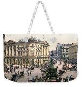 London Piccadilly Circus Weekender Tote Bag