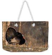 Male Eastern Wild Turkey Weekender Tote Bag