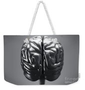 Metallic Brain Weekender Tote Bag