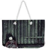 Old Doll Weekender Tote Bag by Joana Kruse