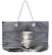 Rays Of Light Shimering Over The Waters Weekender Tote Bag