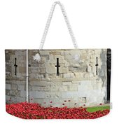 Remembrance Poppies At The Tower Of London Weekender Tote Bag