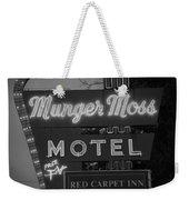 Route 66 - Munger Moss Motel Weekender Tote Bag