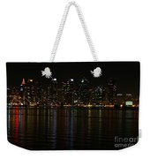 San Diego Skyline Night Weekender Tote Bag