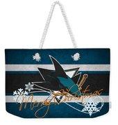 San Jose Sharks Weekender Tote Bag