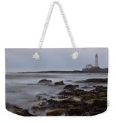 St Marys Lighthouse Weekender Tote Bag