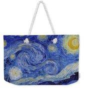 Starry Night Weekender Tote Bag